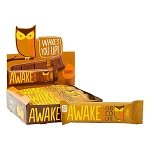 Awake Caffeinated Chocolate Caramel Bar - 12ct