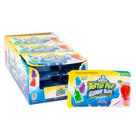Baby Bottle Pop Gummy Blast Gummies Fizzing Candy Dip