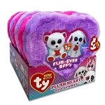 Beanie Boo Plush Heart Box w/Gummies - 6ct