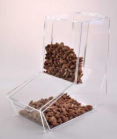 Acrylic Gravity-Fed Food Dispenser - 12in