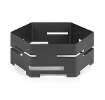 Black Matte Steel Buffet Riser - Size Choice