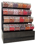 Black Star Granite Laminate Rack & Bins