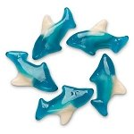 Blue Gummi Sharks - 20lbs