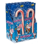 Giant Bubble Gum Candy Canes - 24ct