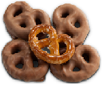 Covered Pretzels