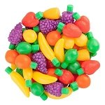 Candy Filled Plastic Fruit - 72ct