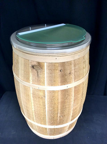 Cedar Barrels With Lid Food Storage Barrel Candy Storage