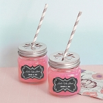 Chalkboard Baby Mason Jar Glasses - 24ct