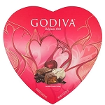 Chocolate 20 Piece Heart Box - 6ct
