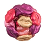 Chocolate Multicolor Lips - 10lbs