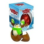 Chocolate Peekaboo Penguin Egg - 24ct