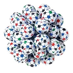 Foil Wrapped Chocolate Soccer Balls - 5lbs