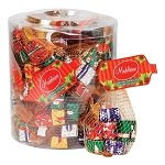 Chocolate Wrapped Christmas Presents - 24ct