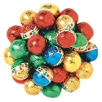 Christmas Chocolate Ornament Balls - 10lbs
