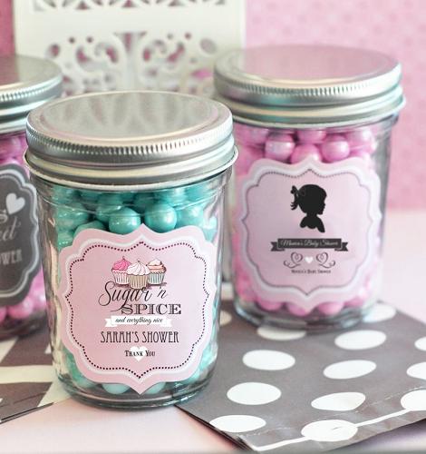 Classic Baby Shower Mini Mason Jars Baby Shower Gifts Jars