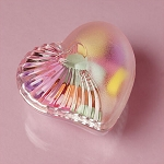 Clear Plastic Heart Containers - 36ct