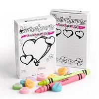 Conversation Hearts - Color Your Own - 36ct