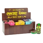 Cowboy Boots Mint Tins - 24ct