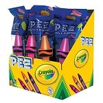 Crayola PEZ Dispensers Assorted - 12ct