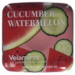 Cucumber Watermelon Mints Slide Tin - 6ct