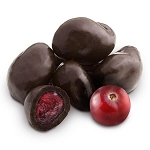 Dark Chocolate Cranberries - 10lbs
