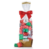 Dark Chocolate Valentines Presents Gift Bag - 12ct