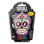 Day Of The Dead Skull Candy Dispenser - 12ct
