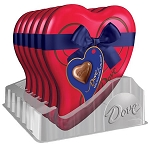 Dove Milk Chocolate Heart Tin  - 12ct
