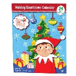 Elf On Shelf Advent Calendar - 12ct