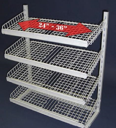 Expandable Under Counter Rack C Store Wire Rack Wire