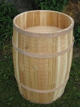 False Bottom Display Barrel - 16in x 27in