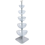 Five-Tier Cascading Bowl Floor Display