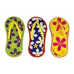 Flower Flip Flop Peppermint Tins - 24ct