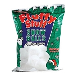 Fluffy Stuff Snow Balls Cotton Candy - 24ct