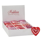 Foil Wrapped Chocolate Hearts  - 60ct