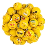 Foil Wrapped Chocolates With Emojis - 10lbs