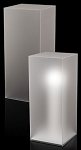 Frosted Acrylic Pedestal - Size Options