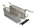 Twin Fry Basket for Small Fryer