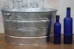 Galvanized Steel Tub - 9 Gallon - 2ct