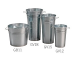 Galvanized Buckets - 11