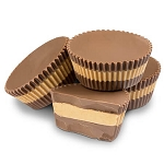 Giant Layered Peanut Butter Cups - 10lbs