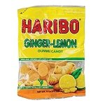 Ginger Lemon Gummies Bag - 12ct