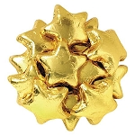 Gold Foil Chocolate Stars - 10lbs