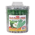 Green Apple Flavored Rock Candy Tub - 36ct