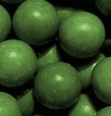 Green Gumballs - 1in.- 850ct