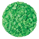 Green Lime Rock Candy Crystals - 10lbs