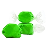 Green Salt Water Taffy- Cello Wrapped - 20lbs