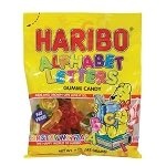 Gummy Alphabet Letters Bag - 12ct