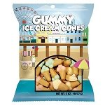 Gummy Ice Cream Cones Peg Bag - 12ct