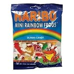 Gummy Mini Rainbow Frogs Bags - 12ct